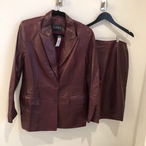 Brand new with tags - woman's Danier leather set